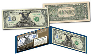 1899 Black Eagle 2 Pres. One-Dollar Silver Certificate Hybrid New Modern $1 Bill