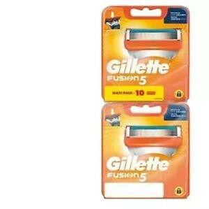 Lot de 10 lames de rasoir homme Gillette Fusion 5 - gilette fusion5