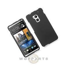 HTC One max T6 Shield Rubberized Black Case Cover Shell Protector Guard Shield