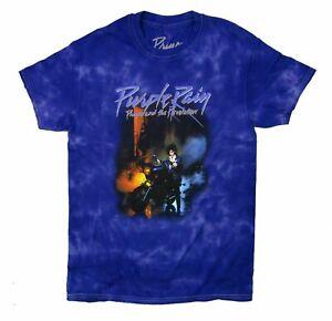 Prince Purple Rain Tie Dye T Shirt