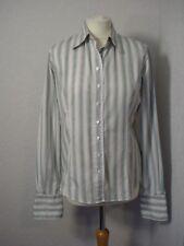 T M Lewin white & pink/blue/beige pin striped shirt 12