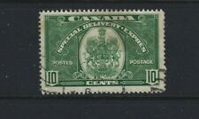 Canada 1939 Special Delivery #E7 10c green  Used  F/VF