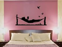 Wall Decal Horse Carriage Couple in Love Romance Decor Vinyl Sticker ed1105