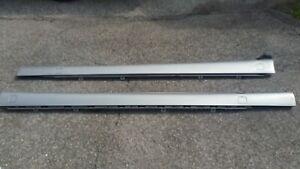 2000-2006 MERCEDES-BENZ W220 S430 S500 ROCKER MOLDING PAIR PEWTER METALLIC