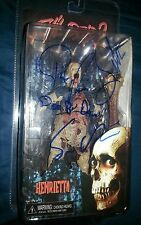 "EVIL DEAD 2 HENRIETTA ""Sam & Ted Raimi +1"" Authentic Hand-Signed Figure (PROOF)"