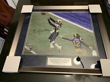 Stephon Gilmore Autographed Signed Framed Super Bowl 53 & Patriots Photo!