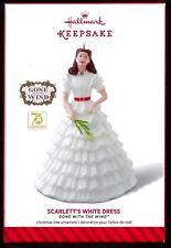 2014 Hallmark SCARLETT'S WHITE DRESS GONE WITH THE WIND Scarlett O'Hara Ltd Ed