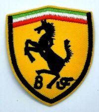 small Ferrari Logo Sew Iron On Embroidery Applique Patch *1773