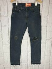 Levis LVC 1969 606 Style Black Washed Sample Slim Ripped Jeans W29 L30 £155 NEW