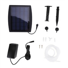 Solar Powered Oxygenator Aerator Air Pump Oxygen For Outdoor Pool Pond Fish