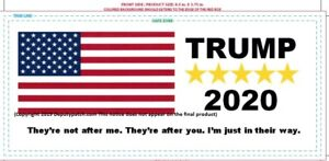 Trump Bumper Sticker They're not after me they're after you Im just in their way