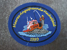 Meckelfeld Fishing Sport German Germany Cloth Patch Badge (L4G)