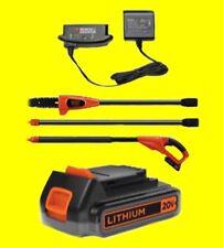 Black & Decker LPP120 Cordless 20 Volt Lithium Battery Pole Saw Trimmer Pruner