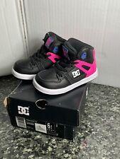 DC Shoes Toddler's Rebound UL - Pink And Black - Toddler Size 6 - NIB