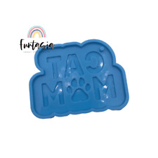 Cat Mom Silicone Mold, Shiny Mold, Silicone Molds for Epoxy Crafts, Resin Craft
