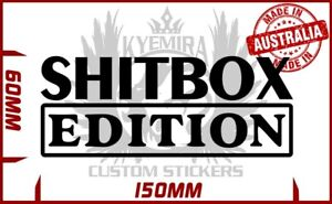 Shitbox Edition BNS UTE Funny vinyl sticker 150mm
