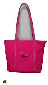 Vera Bradley Pink Cloth Women's Over Shoulder Tote Hand Bag Purse