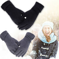 Ladies Women Fleece Gloves Thermal Touch Screen Winter Premium Quality Warm Gift