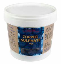 Copper Sulphate 4kg Bluestone High Purity Fully Soluble Sulfate Crystals Pure