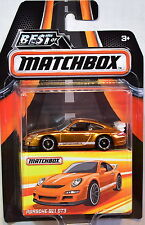 MATCHBOX 2017 BEST OF MATCHBOX PORSCHE 911 GT3 GOLD