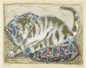Otto Dix Cats Giclee Art Paper Print Paintings Poster Reproduction