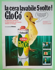 Pubblicita'Advertising Werbung Vintage Cera GLOCO'/FAUZIAN'S Maquillage 1969(A17