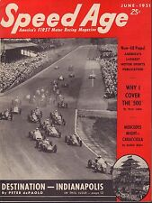 Speed Age Magazine June 1951 Indianapolis Peter de Paolo 080217nonjhe
