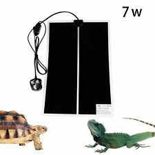 Reptile Heating Pad Mat,7W Adjustable Reptile Heat Pad with Temperature Contr...