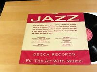 Jazz Promo Compilation FILL THE AIR WITH MUSIC Decca PROMO VG+