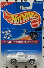 1980 80'S CAMARO Z28 411 CHEVY DRAG CAR SPLATTER PAINT SERIES HW HOT WHEELS