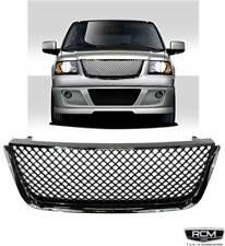 03 06 FORD EXPEDITION Front Grill Mesh Gloss Black Gille