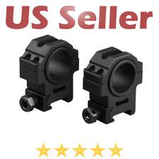VITO 30mm V3 Optic Rings Mount Medium Fits Weaver Picatinny Rails Black
