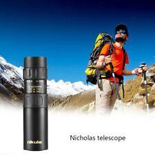 Bolsillo de binoculares telescopio Nikula original de 10-30 X 25 Monocular Zoom De Alta Calidad