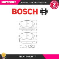 0986494315-G Kit pastiglie freno a disco ant Subaru (BOSCH)