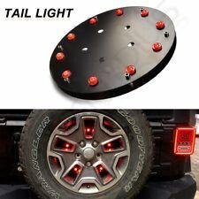 For Jeep Wrangler YJ TJ JK Accessories 3rd Brake Lights Spare Tire LED Lights