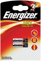 2 x Batterie für Auto-Fernbedienung Energizer 27A MN27