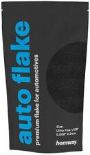 "Hemway Black Metal Flake Auto Car Bike Glitter Paint 0.008"" 200 micron 100g"