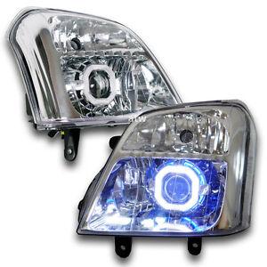 Fit 2003 - 2006 Isuzu Colorado Dmax Head Lamp LED HeadLights Projector DRL