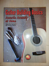 Guitar Building Basics Acoustic Assembly at Home BUILD BOOK MANUAL GUIDE