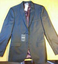 NEW Express 36R men's Modern wool blend Black 2 button Dress sport Coat Jacket