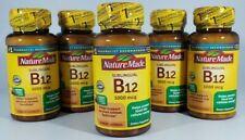 Nature Made Sublingual Vitamin B12 1000 mcg Micro-Lozenges, 50 Count Exp 3/2022