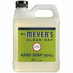 Mrs. Meyer's Lemon Verbena Liquid Hand Soap Refill | 33 oz