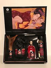SHUNGA EROTIC ART TENDERNESS & PASSION COLLECTION STRAWBERRIES & CHAMPAGNE!