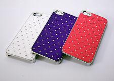 50pcs iPhone SE 5 5s Bling Crystal Diamond Star Hard Case Carve