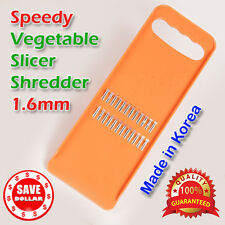 1.6mm Vegetable Grater Fruit Slicer Cutter Knife Hand Held Quality MADE IN KOREA