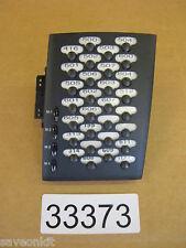 Telrad Button Module Extension - Avanti DDS 30 Button BK add-on 79-660-0000/B