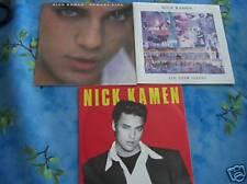 "45T 7""  NICK KAMEN (MADONNA)    : LOT DE 3"