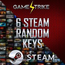 x6 Random Steam Games CD-Keys x6 Region Free