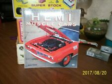 HEMI MUSCLE CARS /Book is in Color