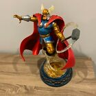 Marvel+Diamond+Select+Milestones+Thor+Armored+Resin+Statue+Figure+DAMAGED